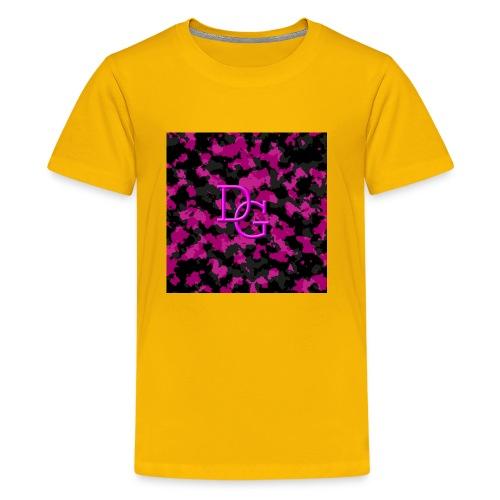pink camo - Kids' Premium T-Shirt
