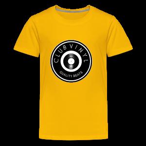 CLUBvinyl RECORDwhite - Kids' Premium T-Shirt