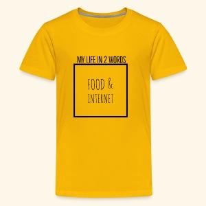 EB41B054 9076 4143 813B A25101C43DFA - Kids' Premium T-Shirt