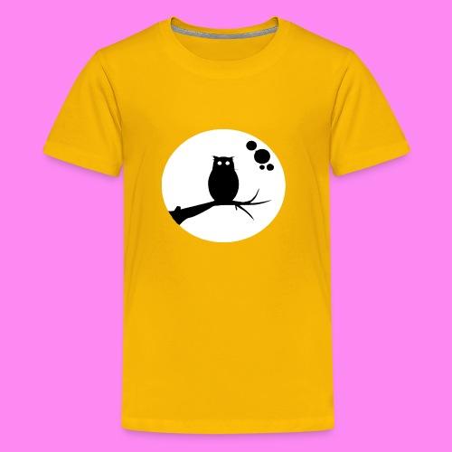 the owl awake - Kids' Premium T-Shirt