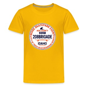 Boise Skate! - Kids' Premium T-Shirt