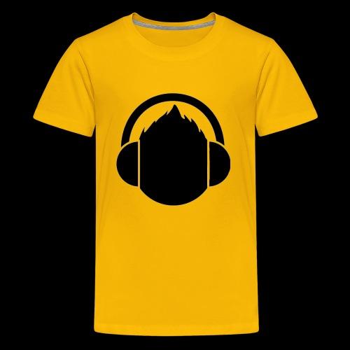 The classic Headphone guy - Kids' Premium T-Shirt
