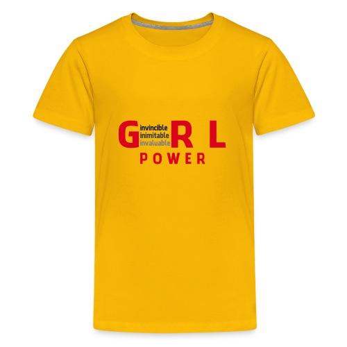 girlpower1 - Kids' Premium T-Shirt