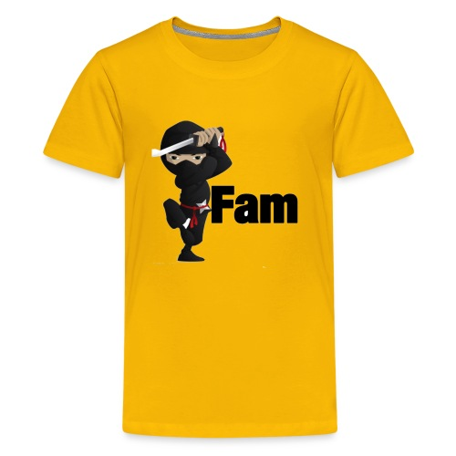 ninja shirtn - Kids' Premium T-Shirt