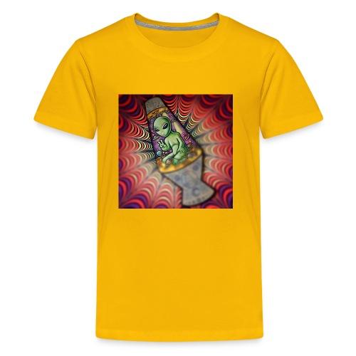Lava alien - Kids' Premium T-Shirt