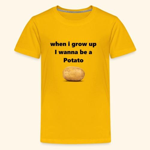 pOtAtO - Kids' Premium T-Shirt