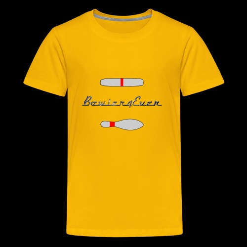 Bowler4Ever Pins Logo - Kids' Premium T-Shirt