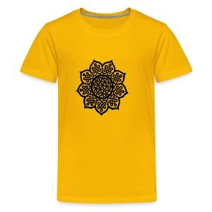 Flower Drawing - Kids' Premium T-Shirt