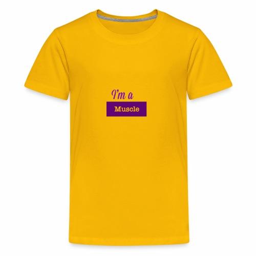 I'm a muscle - Kids' Premium T-Shirt
