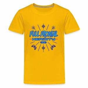 Full Frontal Nerdity Show Logo - Kids' Premium T-Shirt