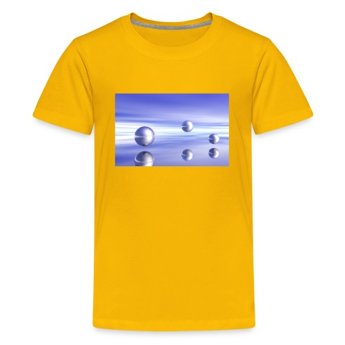 Ball Landscape in 3D - Kids' Premium T-Shirt