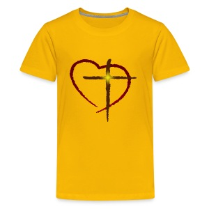 Cross My Heart - Kids' Premium T-Shirt