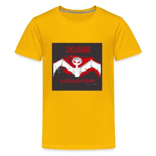 A Devilish Year T-Shirt - Kids' Premium T-Shirt