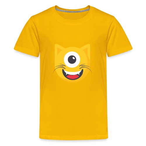 Cyclo Cat - Kids' Premium T-Shirt