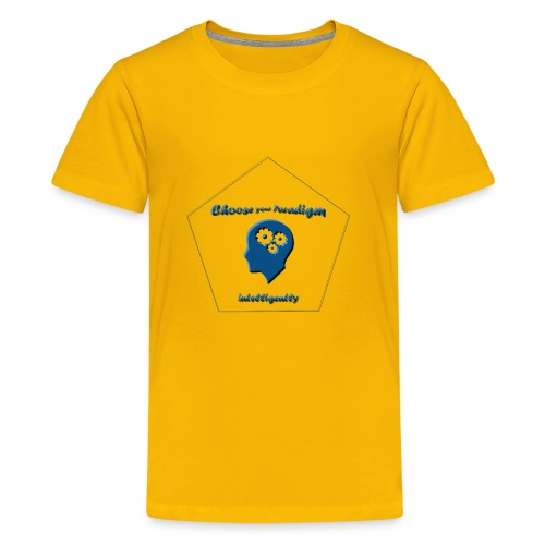 Choose your paradigm intelligently - Kids' Premium T-Shirt