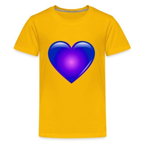 Blue Heart - Kids' Premium T-Shirt