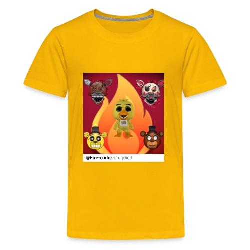 Firecoder Plays - Kids' Premium T-Shirt