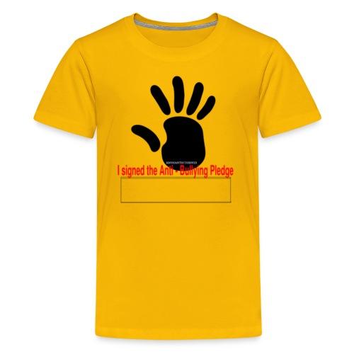 Bully pledge - Kids' Premium T-Shirt