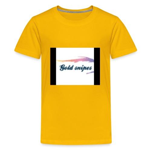Kids Gold snipes Tshirt - Kids' Premium T-Shirt
