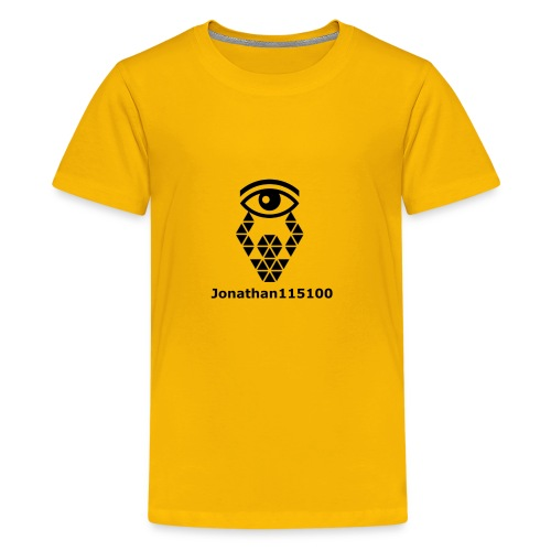 Channel Name And Logo - Kids' Premium T-Shirt