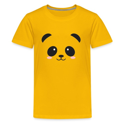 Panda Simple Face - Kids' Premium T-Shirt
