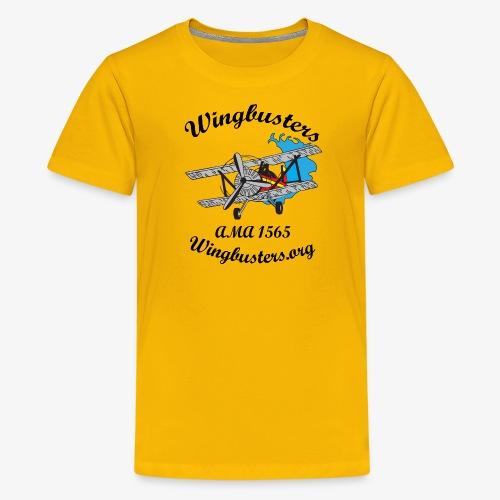 Wingbusters Black Logo - Kids' Premium T-Shirt