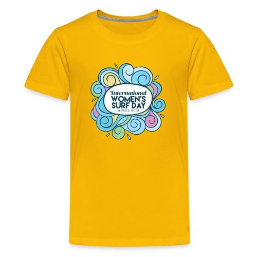 International Womens Surf Day - Kids' Premium T-Shirt
