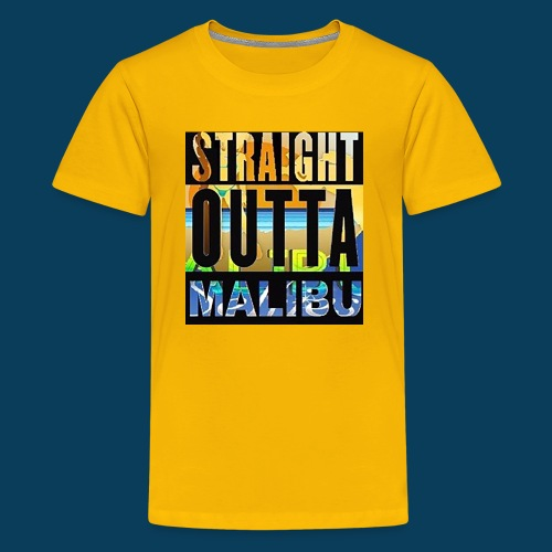Straight Outta Malibu - Kids' Premium T-Shirt