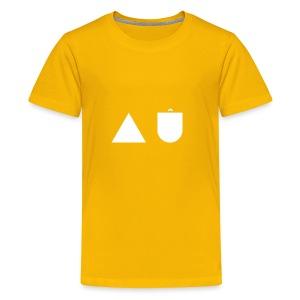 A U White - Kids' Premium T-Shirt