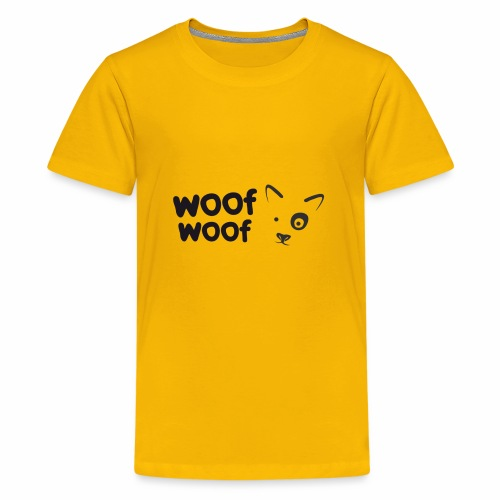 Woof Woof - Kids' Premium T-Shirt