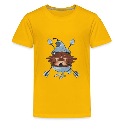 pigeon in the tent - Kids' Premium T-Shirt