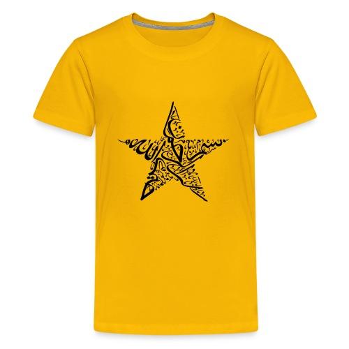 Bismillah in Arabic Calligraphy - Kids' Premium T-Shirt