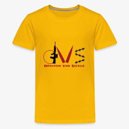 Drayton vansickle logo - Kids' Premium T-Shirt