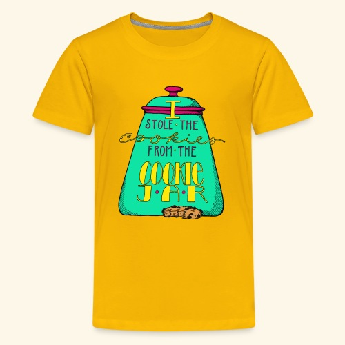 I Stole the Cookies From the Cookie Jar - Kids' Premium T-Shirt