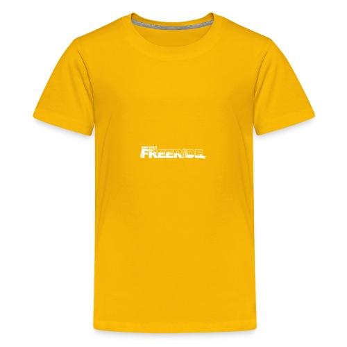 GK Freeride White Logo - Kids' Premium T-Shirt