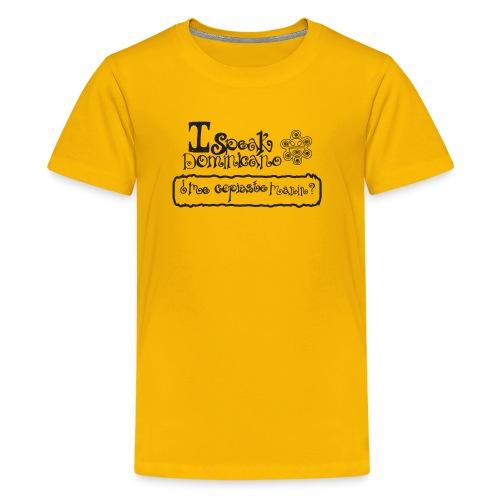 ispeakdominicano1 - Kids' Premium T-Shirt