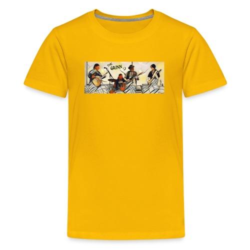 The Grinn:) - Kids' Premium T-Shirt