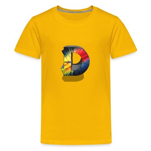 D Logo Colorful - Kids' Premium T-Shirt