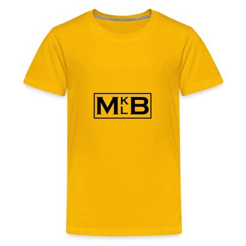 mklb logo -2 - Kids' Premium T-Shirt
