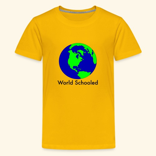 World Schooled - Kids' Premium T-Shirt