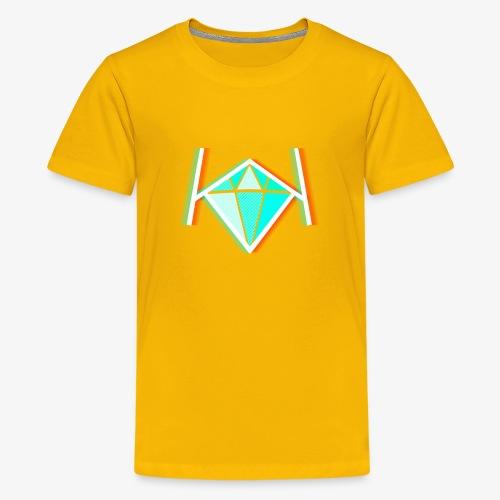 3D KK Diamond Logo - Kids' Premium T-Shirt