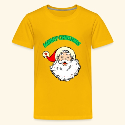 merry christmas santa claus - Kids' Premium T-Shirt