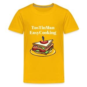 TosTinMan Sandwich - Kids' Premium T-Shirt