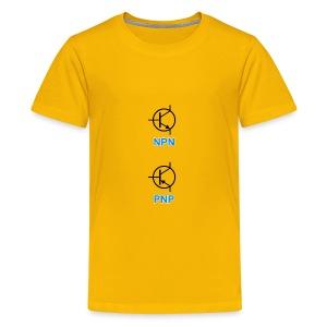 Transistors (NPN & PNP) - Kids' Premium T-Shirt