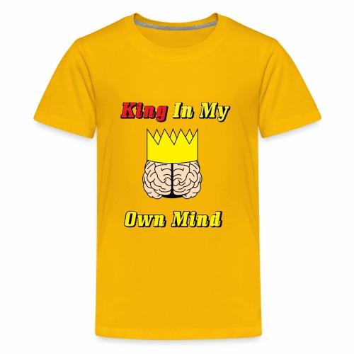 King in my own mind - Kids' Premium T-Shirt