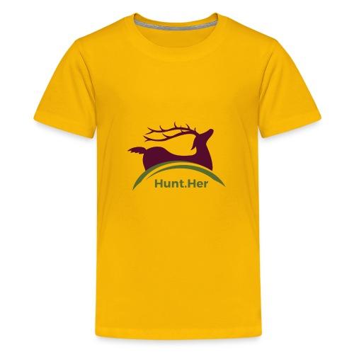 HuntHER Gear - Kids' Premium T-Shirt