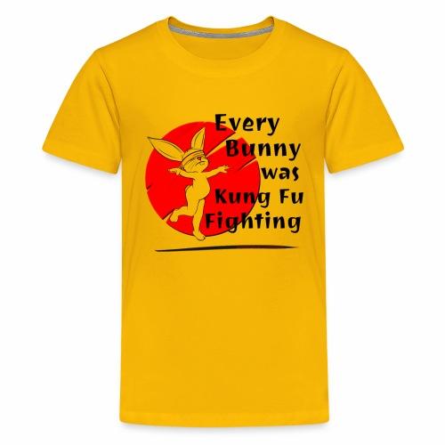 Every Bunny was Kung Fu Fighting - Kids' Premium T-Shirt