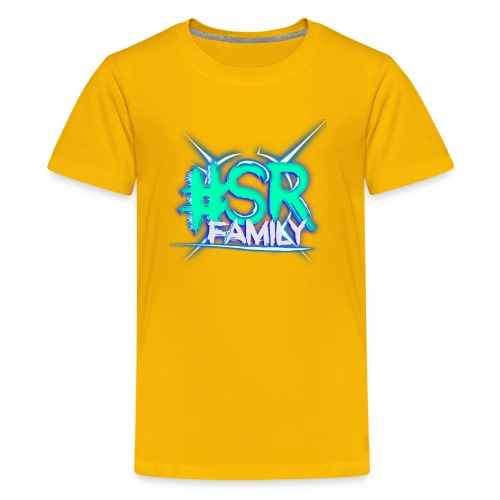 #SR Light Blue - Kids' Premium T-Shirt