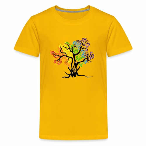 3WC Rainbow Tree - Kids' Premium T-Shirt