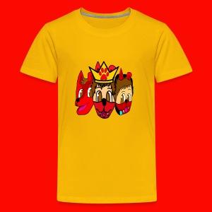 Furry, Normal, and Gamer KingRedDogChris - Kids' Premium T-Shirt